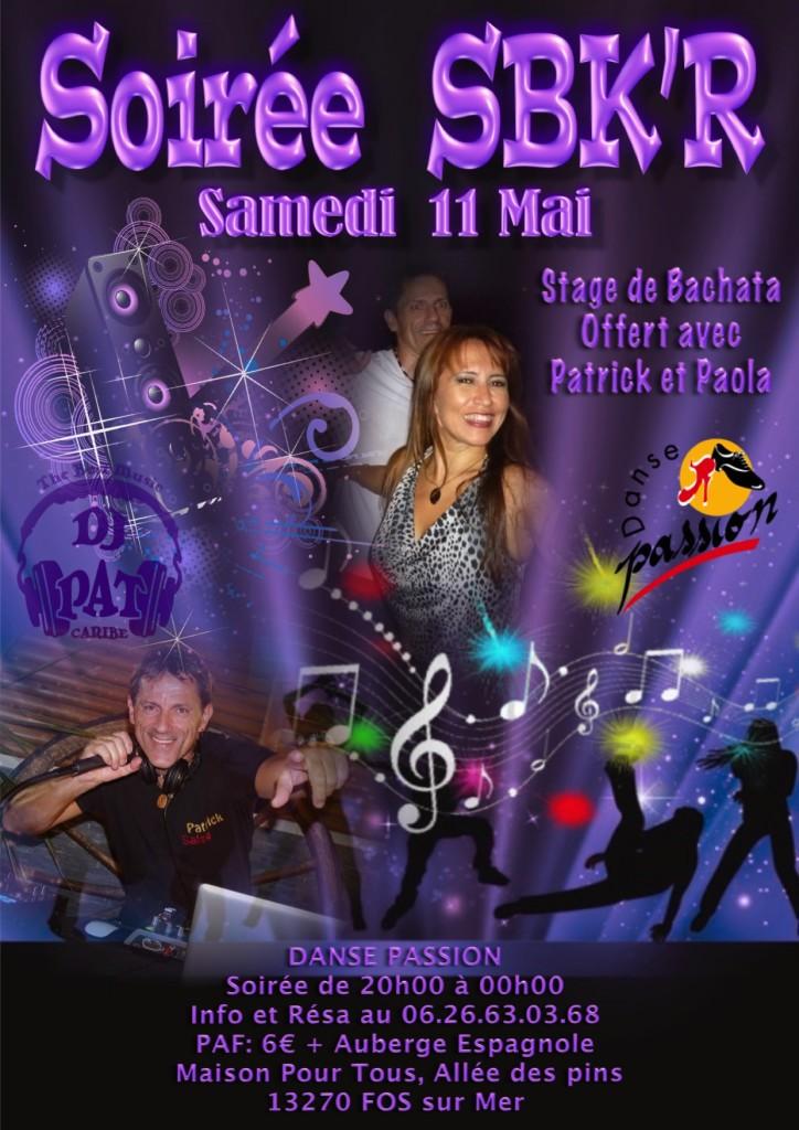 Flyer Soirée Mai 2019