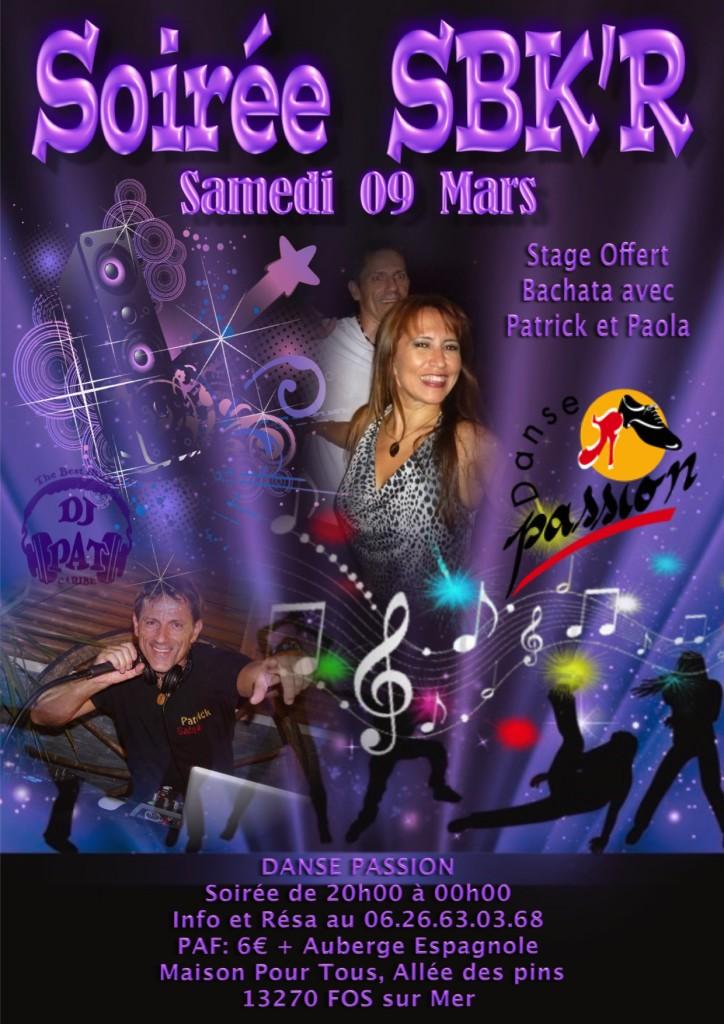 Flyer Soirée Mars 2019