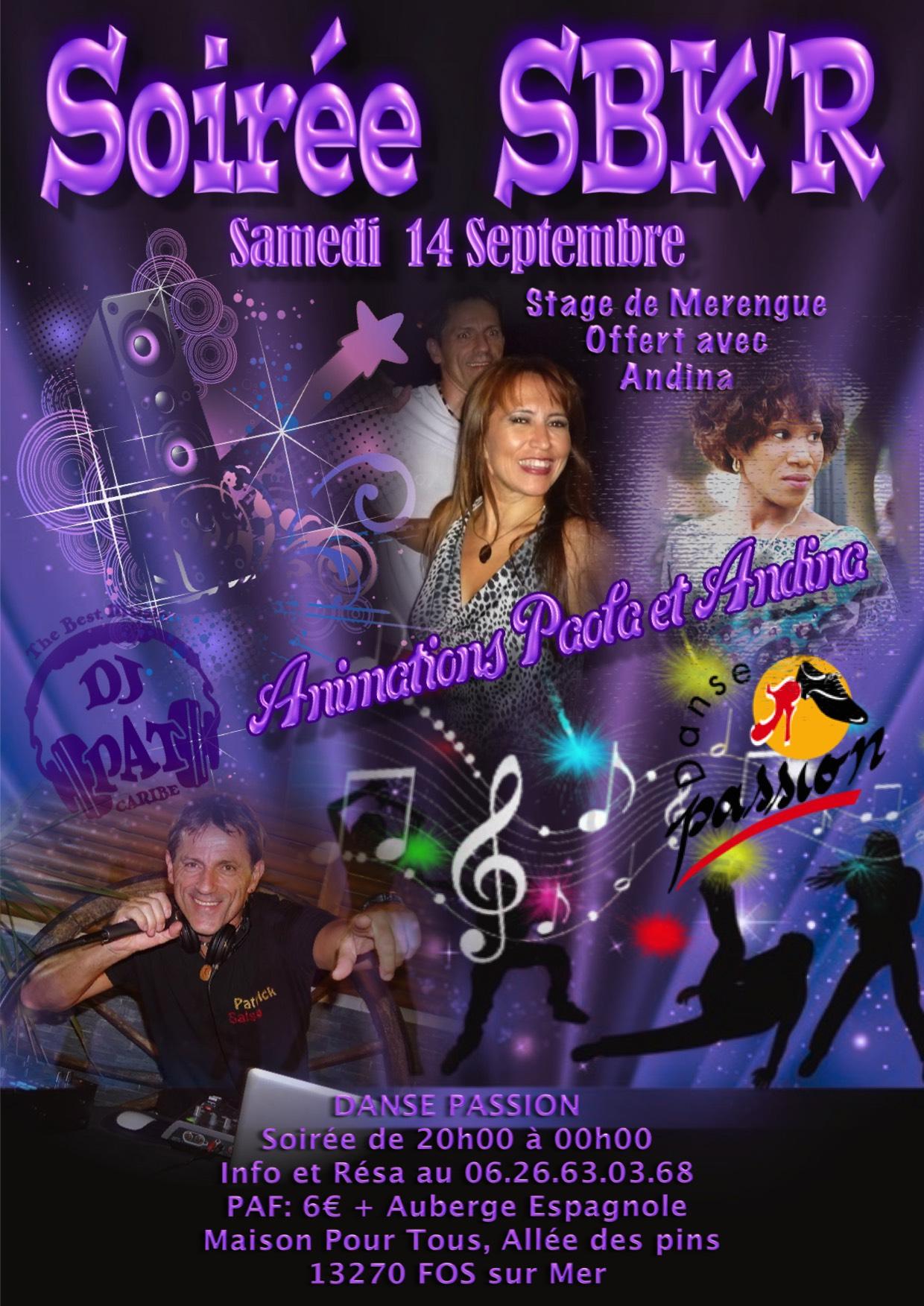 Flyer Soirée Salsa Sept 2019
