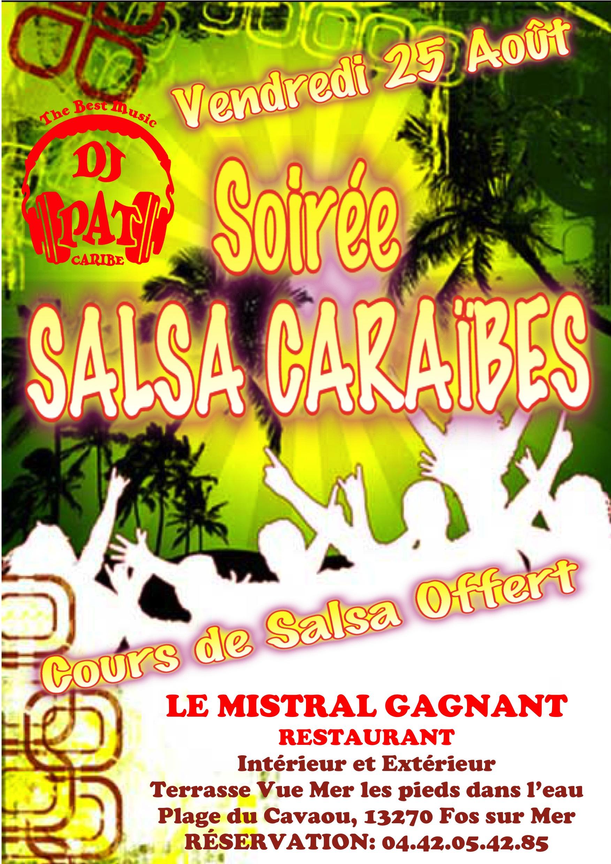 SOIRÉE SALSA CARAÏBES 2