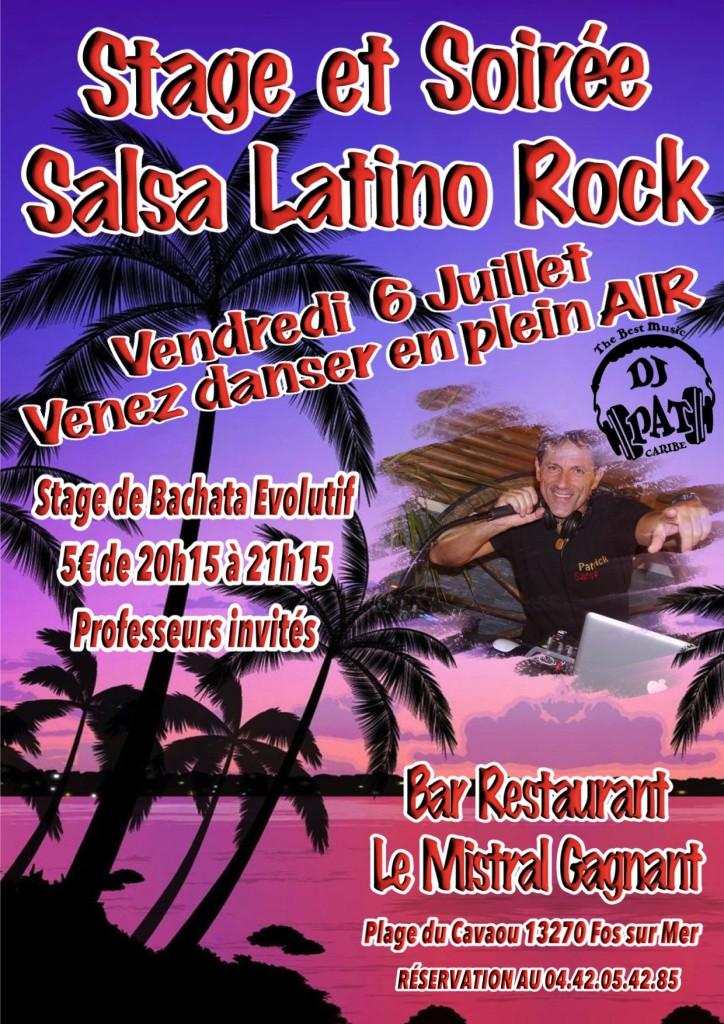 SOIRÉE Salsa Latino Rock 2018-3