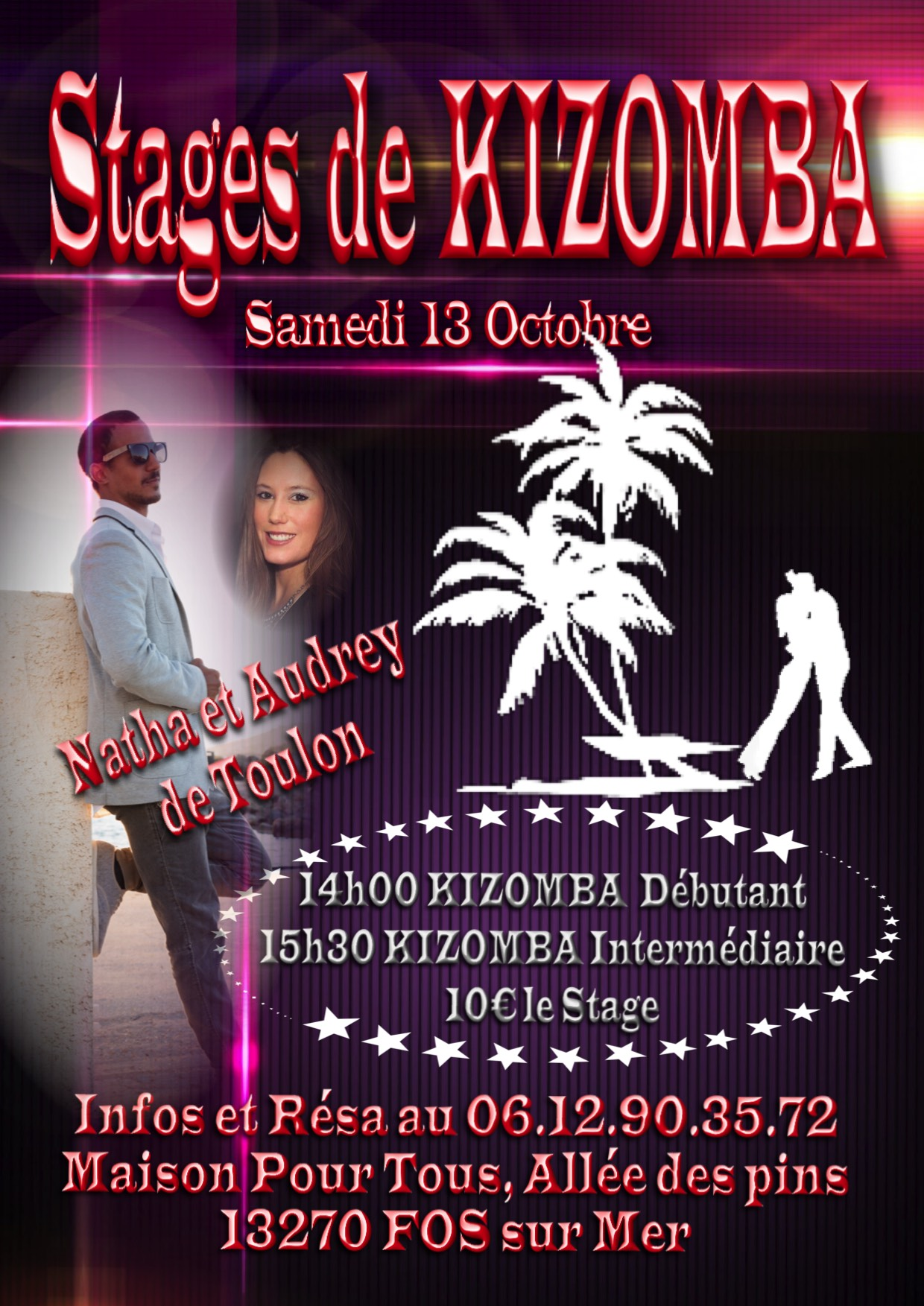 Stage Intensif de KIZOMBA2