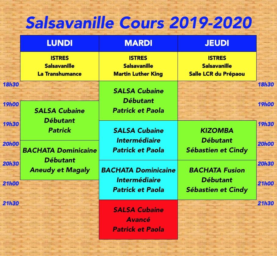 Planning Salsavanille 2019-2020 Validé